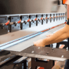 Linear guide for press brake