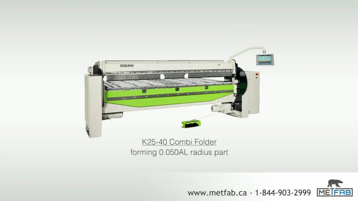 folding machine cidan K25-40
