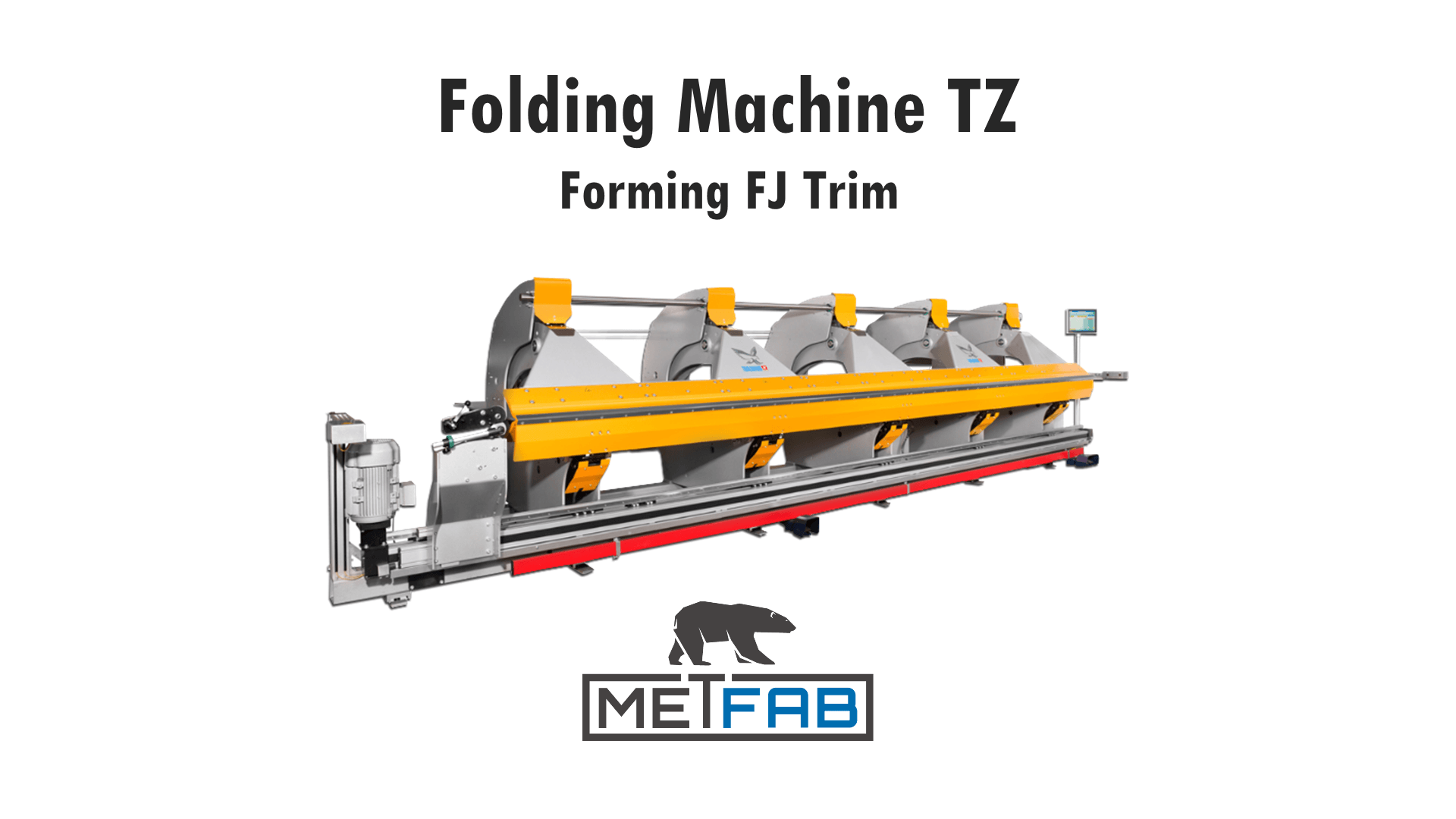 TZ folding machine - Form a JF trim