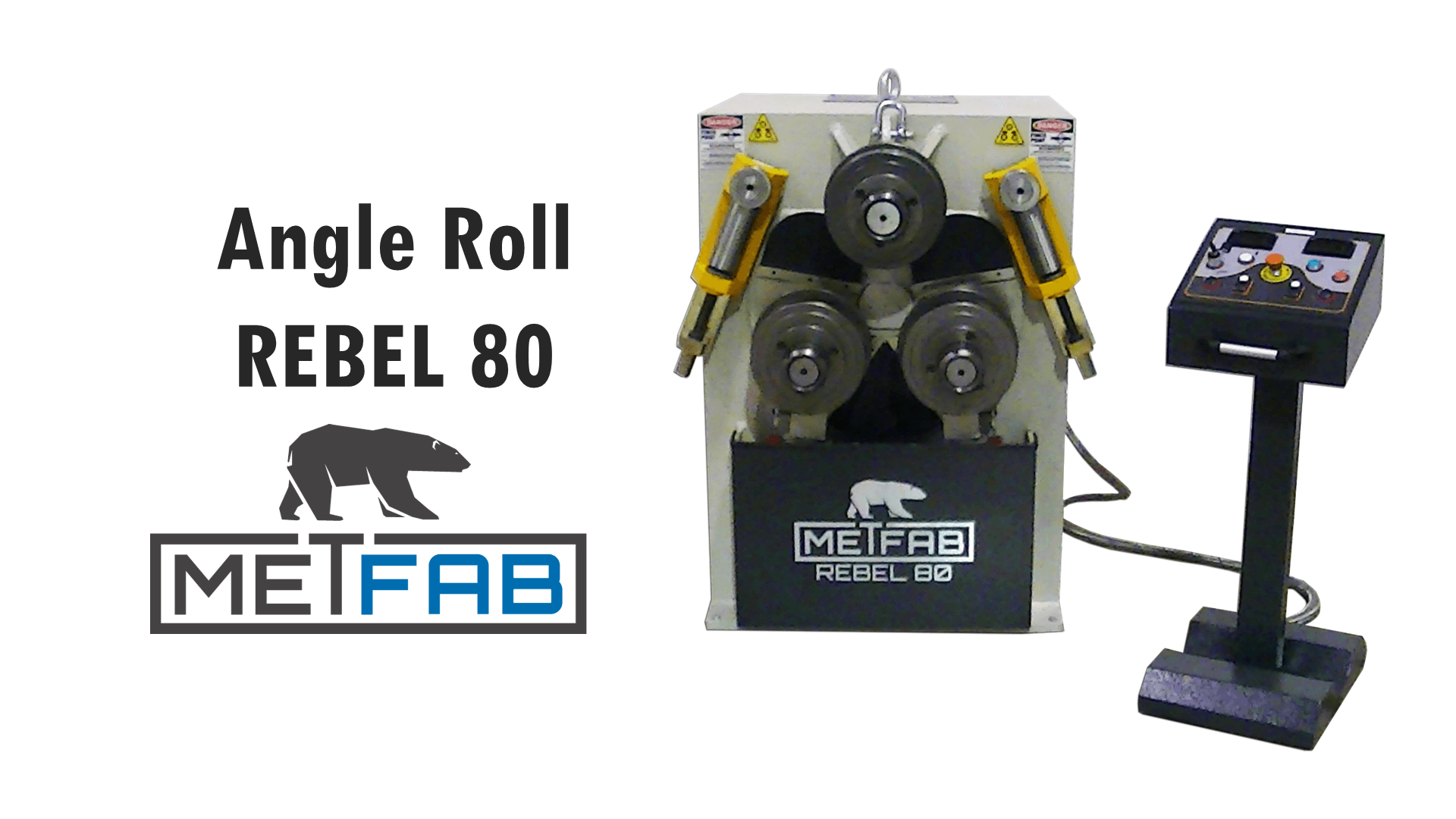 Angle roll machine - Video of the Rebel 80]