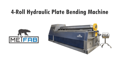 4-roll plate bending machine