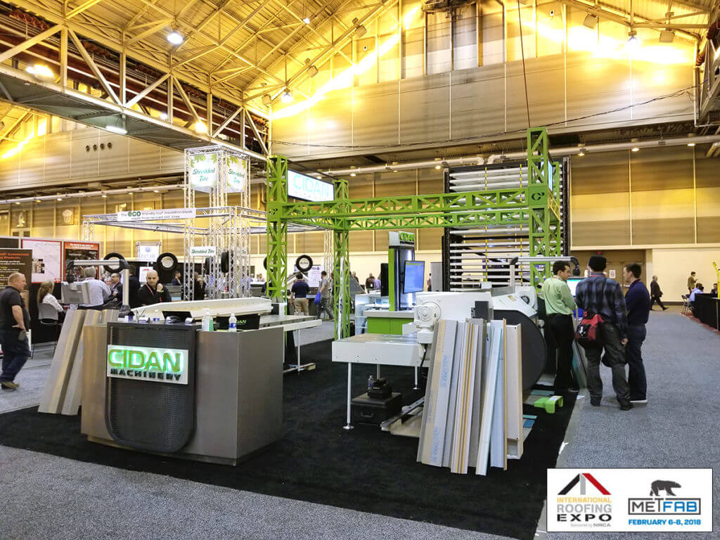 international roofing expo metfab 2018 New Orleans