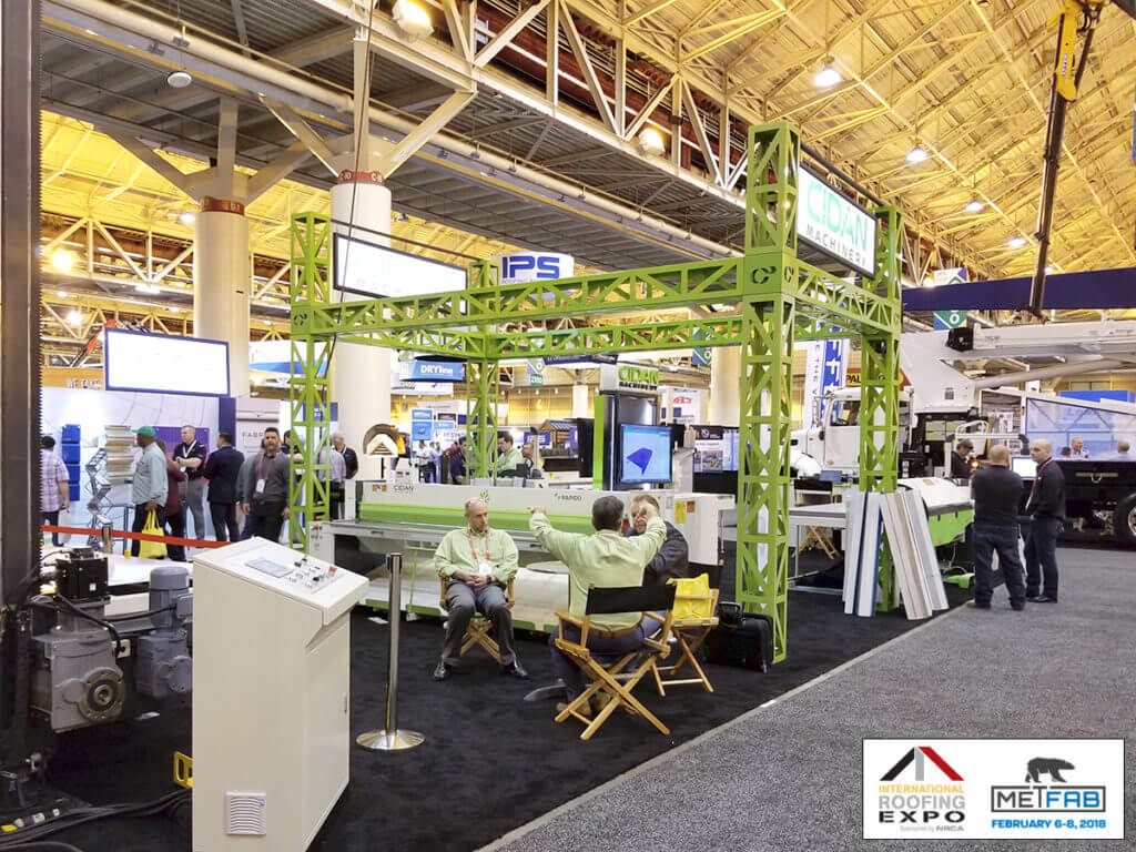 International Roofing Expo 2018 New Orleans Metfab