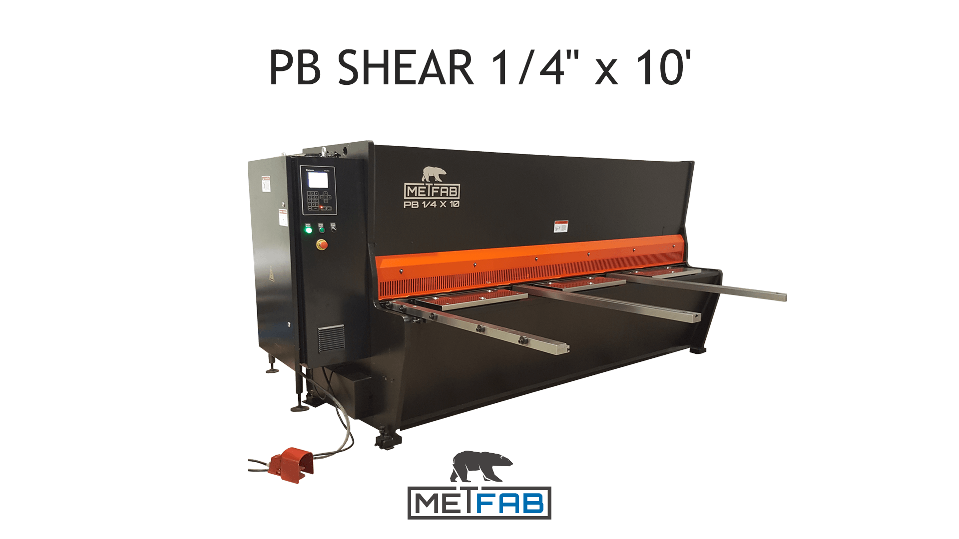 Shear video PB Series Metfab