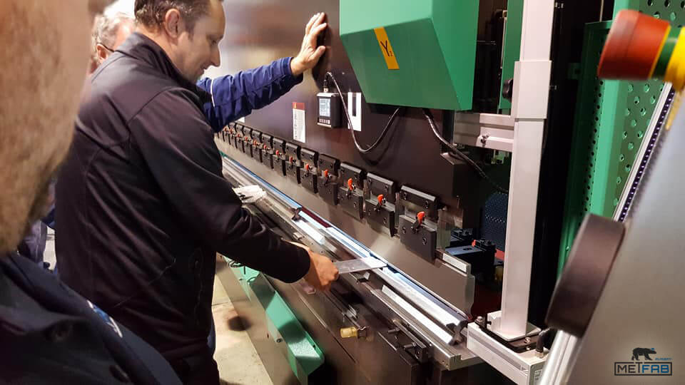Metfab Academy CNC press brake training course