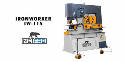 ironworker IW 115 Rebel Metfab