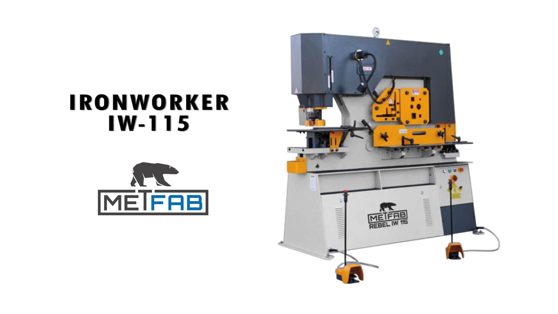 ironworker IW 115 Rebel Metfab