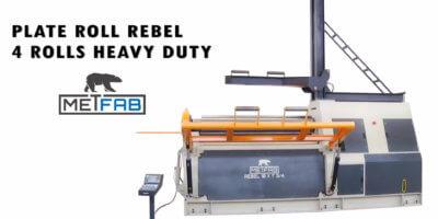 plate roll rebel 4 rolls heavy duty