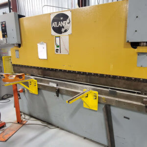 Used Atlantic press brake 110 ton 10 feet