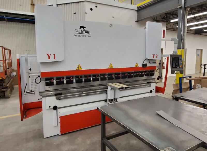 press brake PB 110T x 10 demo
