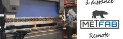 Covid-19 : Metfab sets up a remote process