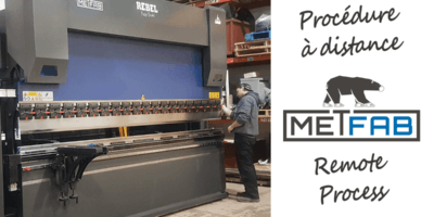 COVID-19 : Metfab met en place des procédures à distance