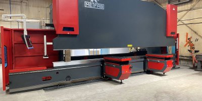 Installation of a Rebel 660T x 24' press brake